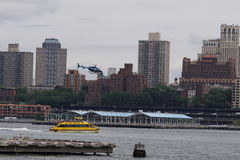 Downtown Manhattan Heliport 46 Royalty Free Stock Images