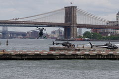 Downtown Manhattan Heliport 45 Stock Photo