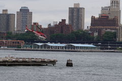 Downtown Manhattan Heliport 35 Royalty Free Stock Images