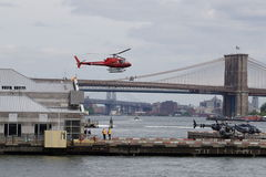Downtown Manhattan Heliport 21 Royalty Free Stock Photography