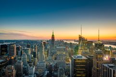 Free Downtown Manhattan In New York, United States Royalty Free Stock Photos - 153650278