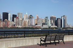 Downtown Manhattan Royalty Free Stock Photo