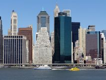 Downtown of Manhattan, New York Royalty Free Stock Photo