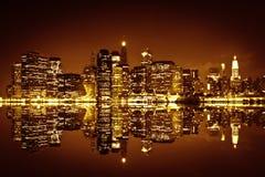 Downtown Manhattan, New York City Royalty Free Stock Photo
