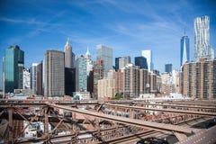 Downtown Manhattan Stock Photo