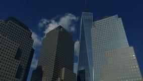 Downtown Manhattan Skyline stock footage
