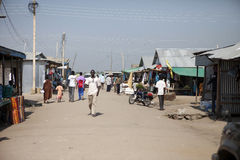 Downtown market, Bor Sudan Stock Photo