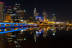 Downtown of Melbourne Royalty Free Stock Photo