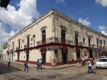 Downtown Merida Yucatan Royalty Free Stock Photo