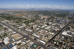 Downtown Mesa, Arizona Royalty Free Stock Images