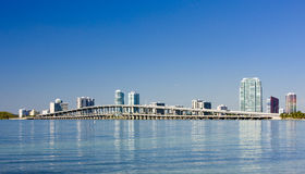 Downtown Miami Royalty Free Stock Images