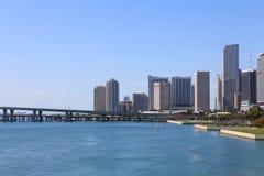 Downtown Miami Royalty Free Stock Photos