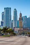 Downtown Miami Stock Photography