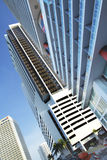 Downtown Miami Brickell Royalty Free Stock Photography