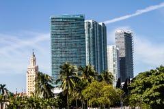 Downtown of Miami Stock Image