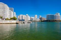 Downtown Miami Stock Photo