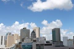 Downtown miami cityskape Royalty Free Stock Photography