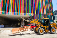 Downtown Miami Construction Stock Photos