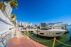 Downtown Miami Stock Image