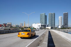 Downtown Miami, Florida Royalty Free Stock Photography