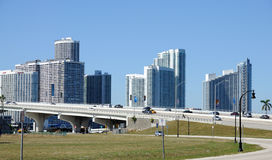 Downtown Miami, Florida Stock Photography