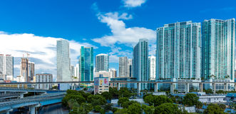 Downtown of Miami in Florida, USA Royalty Free Stock Images