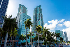 Downtown of Miami in Florida, USA Stock Photography