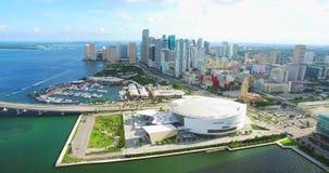 Downtown Miami. Florida. USA. Aerial view of Downtown Miami. Florida. USA stock video