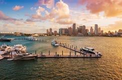Downtown Miami, Florida Royalty Free Stock Photo
