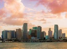 Downtown Miami, Florida Stock Photo