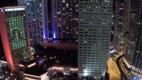 Downtown Miami Intercontinental Hotel stock video
