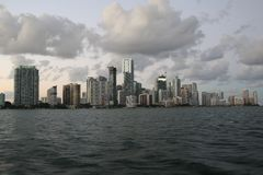 Downtown miami Stock Image