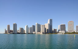 Downtown Miami Skyline, Royalty Free Stock Image