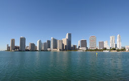 Downtown Miami Skyline Stock Photo