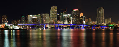 Downtown Miami Skyline Stock Images