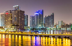 Downtown Miami skyline Royalty Free Stock Photography