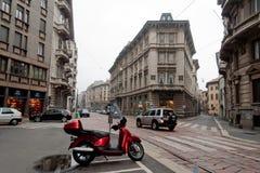 Downtown Milan Royalty Free Stock Image