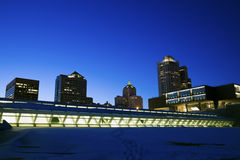 Downtown Milwaukee Stock Photography