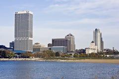 Downtown Milwaukee Stock Photo