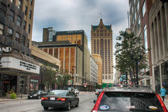 Downtown Milwaukee Royalty Free Stock Photos