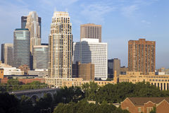 Downtown Minneapolis Royalty Free Stock Images