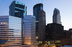 Downtown Minneapolis Royalty Free Stock Photo