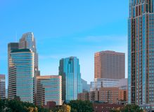 Downtown Minneapolis Minnesota Royalty Free Stock Photo
