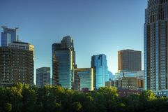 Downtown Minneapolis Minnesota Royalty Free Stock Images