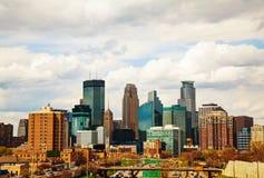 Downtown Minneapolis, Minnesota Royalty Free Stock Photos