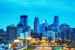 Downtown Minneapolis, Minnesota Stock Photo