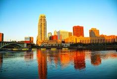Downtown Minneapolis, Minnesota Stock Images