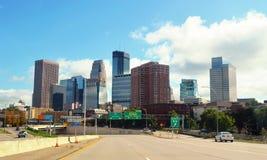 Downtown of Minneapolis.Minnesota Stock Image