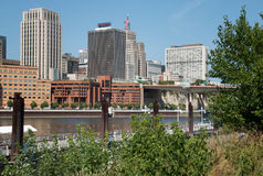 Downtown City of St. Paul, Minnesota Stock Images