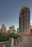 Downtown Minneapolis MN Royalty Free Stock Photography